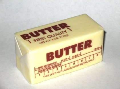 """Western-pack-butter"" by Steve Karg, aka Skarg at en.wikipedia - Transferred from en.wikipedia. Licensed under Creative Commons Attribution 2.5 via Wikimedia Commons - http://commons.wikimedia.org/wiki/File:Western-pack-butter.jpg#mediaviewer/File:Western-pack-butter.jpg"