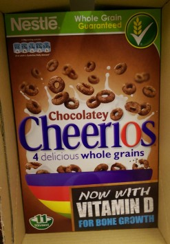 Chocolatey Cheerios